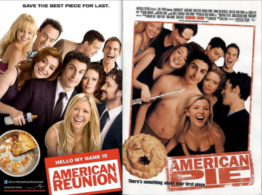 Poster american reunion o american pie 4