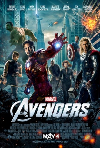 poster pelicula the avengers los vengadores